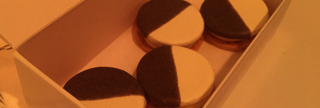 A near black and white cookie experience