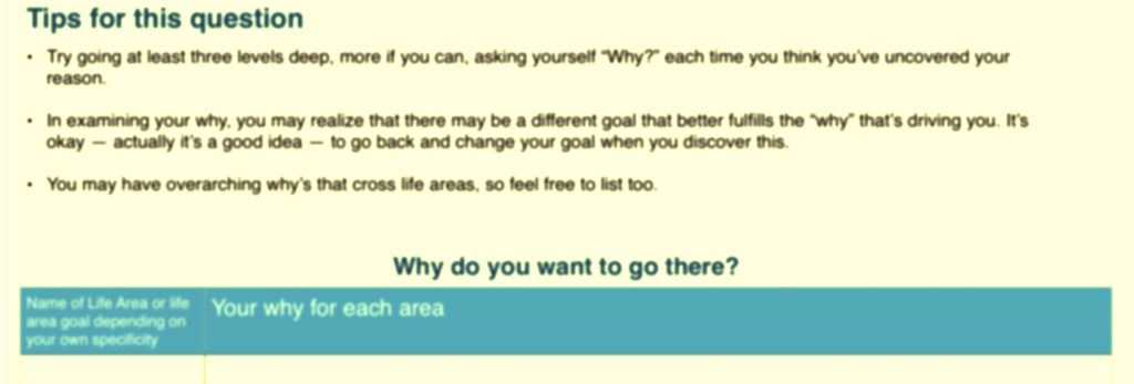 Find your way in life worksheet